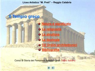 Il Tempio greco
