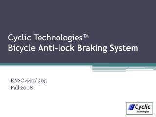 Cyclic Technologies