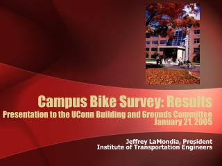 Campus Bike Survey: Results