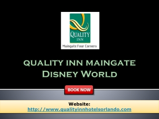 Quality Inn Maingate disney world