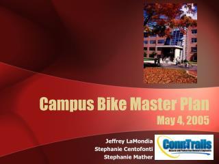 Campus Bike Master Plan