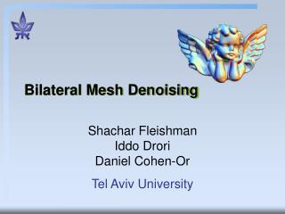 Bilateral Mesh Denoising