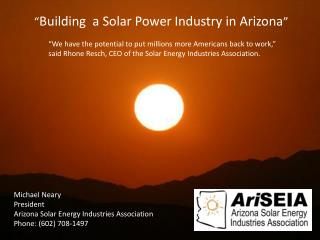 Arizona Solar Energy Industries Association