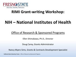 NIH Project 1