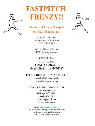 FASTPITCH FRENZY