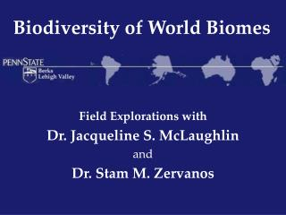 Biodiversity of World Biomes