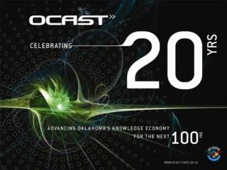 OCAST FY07 Budget Request