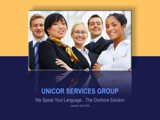 UNICOR SERVICES GROUP