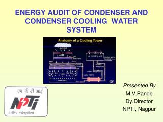 ENERGY AUDIT OF CONDENSER AND CONDENSER COOLING WATER SYSTEM