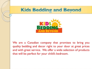 Kids Bedding And Beyond