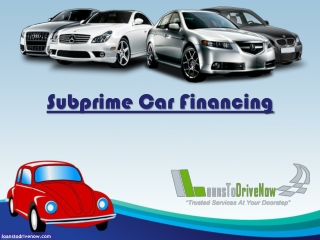 Getting Qualified For Subprime Auto Loans