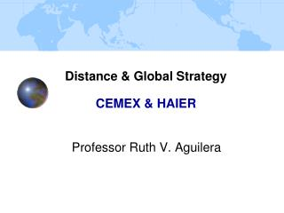 Distance  Global Strategy