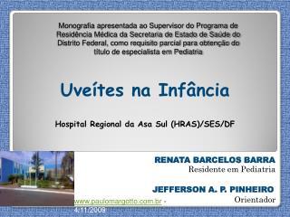 RENATA BARCELOS BARRA