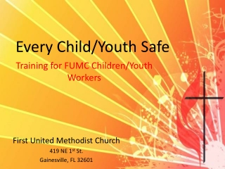 First UMC Gainesville CYPP 2013