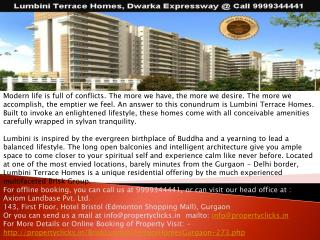 lumbini terrace homes l lumbini terrace homes gurgaon