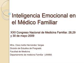 Inteligencia Emocional en el M