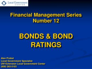 Financial Management Series Number 12