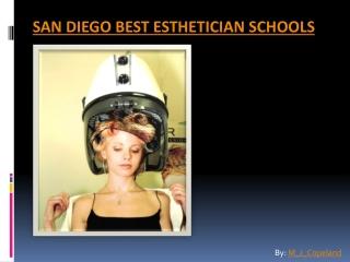San Diego Best Esthetician Schools