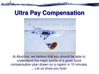 AlkaViva UltraPay Comp Plan