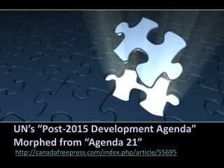"Jakarta Crown Eco Management - UN's ""Post-2015 DevelopmenT"