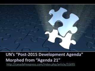 Jakarta Crown Eco Management - UN�s �Post-2015 DevelopmenT