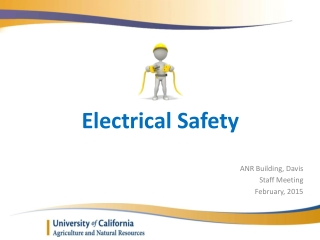 Laboratory electrical safety training - Environmental Safety ...