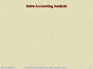 Intro-Accounting Analysis
