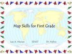 Map Skills for First Grade