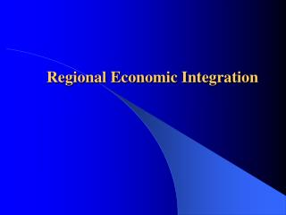 Chapter 8 - Regional Economic Development