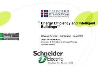 Energy Efficiency and Intelligent Buildings