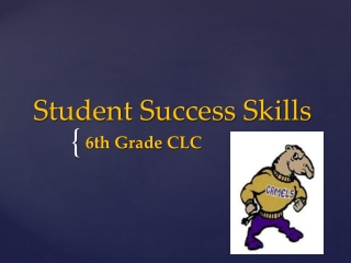Student Success Skills PowerPoint