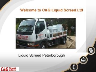 Liquid Screed Peterborough