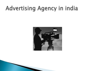 Advertising Agency in india