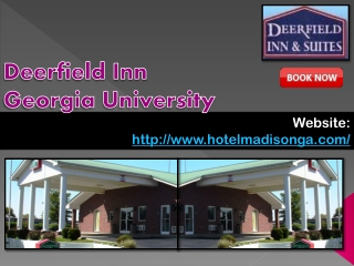 Deerfield Inn Georgia University
