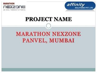 Marathon Nexzone Panvel@09999684166