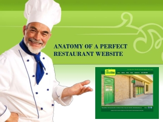 ANATOMY OF A PERFECT RESTAURANT WEBSITE