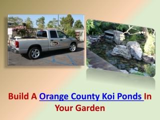 Orange County Koi Ponds
