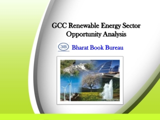 GCC Renewable Energy Sector Opportunity Analysis
