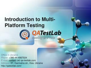 introduction to multi-platform testing