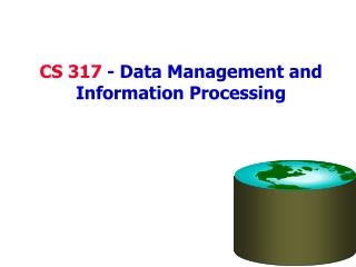 CS 317 - Data Management and Information Processing