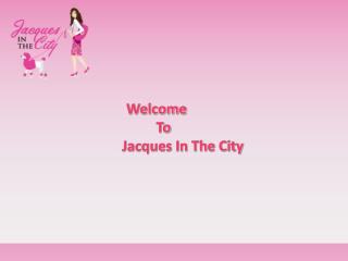 Jacques In The City - Stylish & Fashion Puppy Clothes