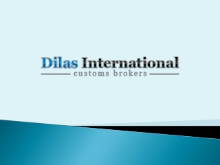 Dilas International Customs Brokers Ltd.