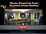 Wesley Chapel Inn Hotel Raymond James Stadium