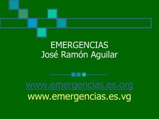 EMERGENCIAS Jos