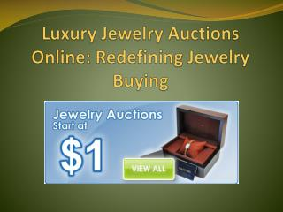 all about jewelry auctions