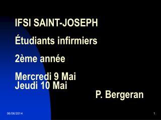 IFSI SAINT-JOSEPH