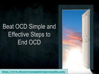 beat ocd: simple and effective steps to end ocd