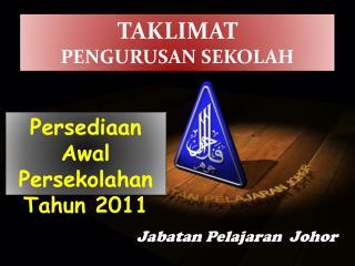 2010 12 30 taklimat Persediaan Tahun Awal Tahun - PPD PASIR GUDANG