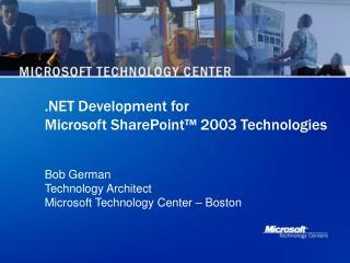 Development for Microsoft SharePoint
