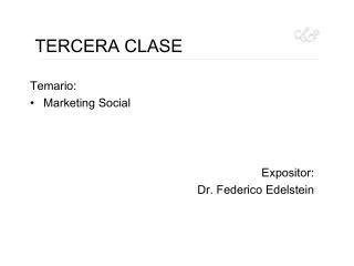 TERCERA CLASE